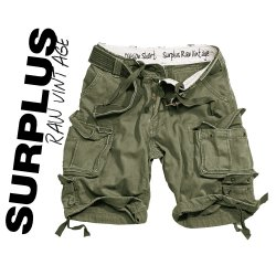 Brand New Surplus Raw Vintage Division Shorts OD