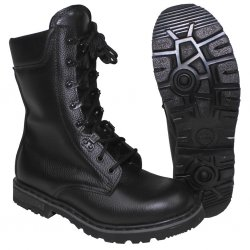 German BW Army Combat Boots - Black