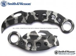 Smith & Wesson Urban Camo Karambit Kniv