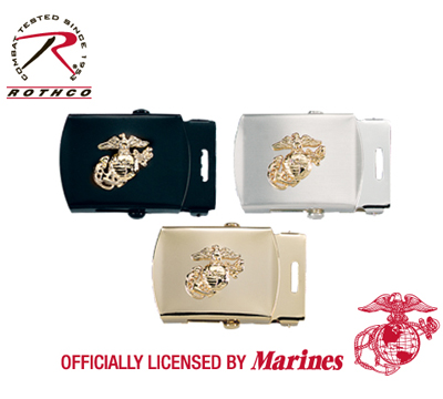 WEB BELT BUCKLES WITH USMC EMBLEM