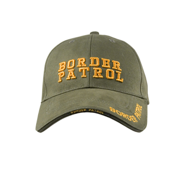 US Low Profile BORDER PATROL Keps OD