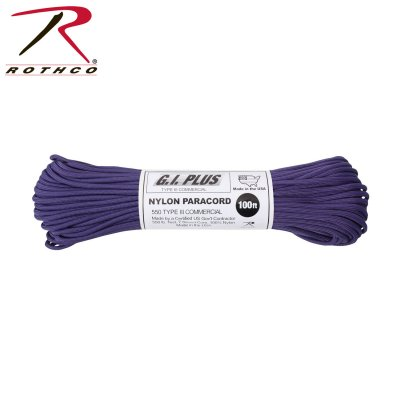 Amerikansk Paracord Original Purple 30meter