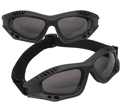 Rothco BLACK TACTICAL Skyddsglasögon