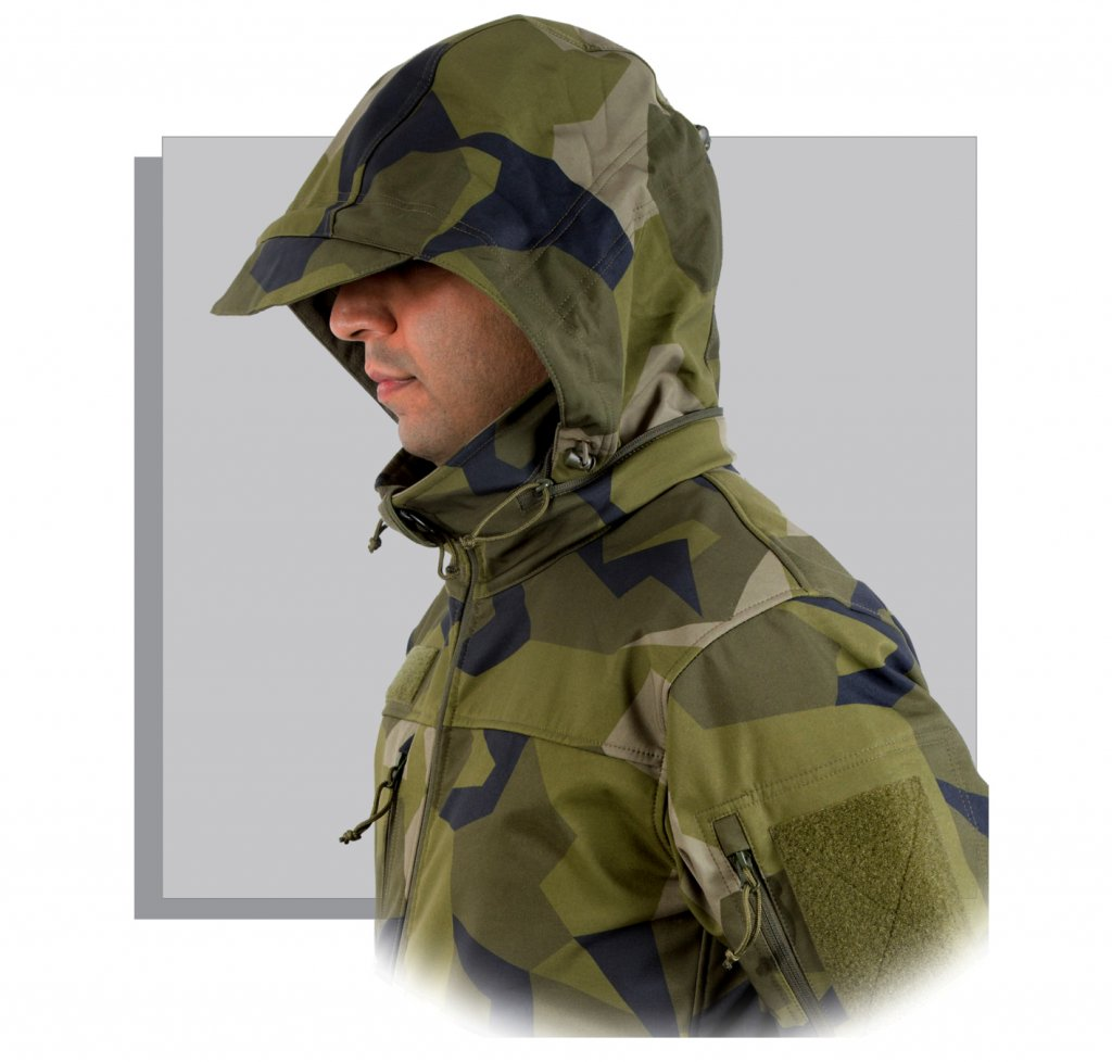 Nordic Army Softshell Jacket Soft Shell Jackets