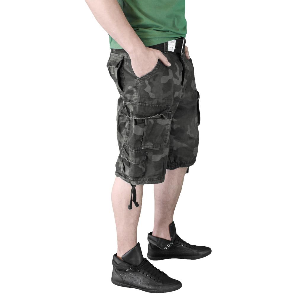 Surplus Raw Vintage Division Shorts Dark Camo Shorts