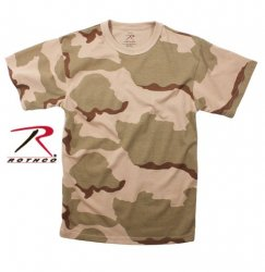 Rothco T-Shirt 3 Color Desert