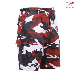 Rothco BDU Shorts Red Camo