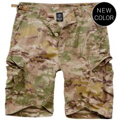 Brandit BDU tactical camo shorts
