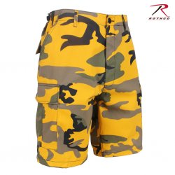 militär shorts yellow stinger