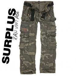 Surplus Royal Traveler Hose - Black Camo