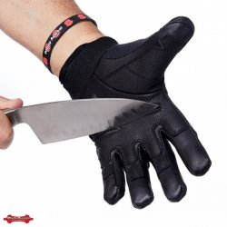 CBlade Runner Coyote Gloves- CUT RESISTANCE LEVEL 5 - Black