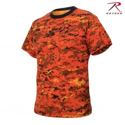 Rothco Digital Camo Orange T-Shirt