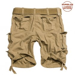 Brand New Surplus Raw Vintage Division Shorts - Beige