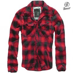 Brandit Flanell Shirt - Red