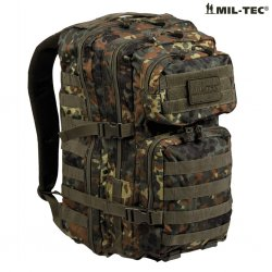 US Army Patrol Assault Backpack 50L - Flecktarn