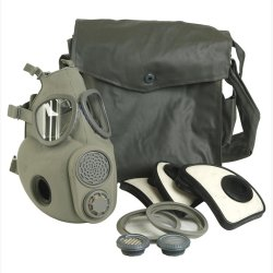 NVA Gas mask with filter and bag