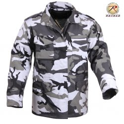 ROTHCO ULTRA FORCE CITY CAMO M-65 FIELD JACKET