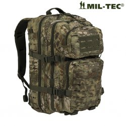 Army Laser Cut Backpack 50L - Mandra Woodland