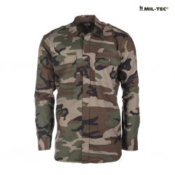 Mil Tec Field Shirt - Woodland Camo