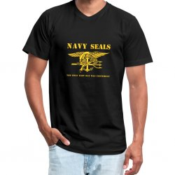 T Shirt NAVY SEALS - Svart