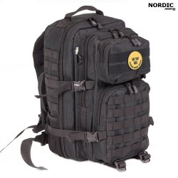 Nordic Army® Assault Back Pack 28L - Svart