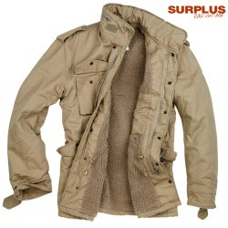 Surplus Raw Paratrooper Lumberjacka - Beige