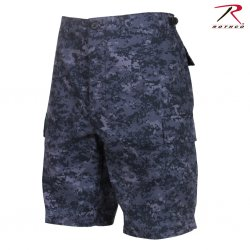 Rothco BDU Shorts midnight camo