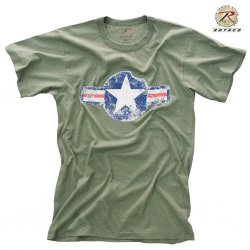 Rothco T Shirt ARMY AIR CORP OD
