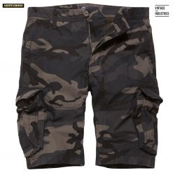 Rowing Shorts - Dark Camo - Vintage Industries