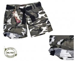 ARMY SHORTS WOMAN URBAN