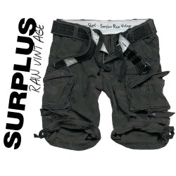 Brand New Surplus Raw Vintage Division Shorts Dark Camo