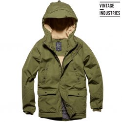 Skinner Parka - Vintage Industries - Green