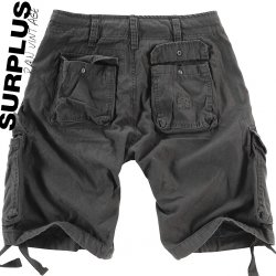 Surplus RAW Vintage Airborne Shorts - Black