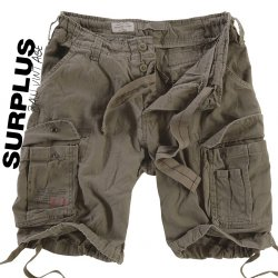 Surplus RAW Vintage Airborne Shorts - Green