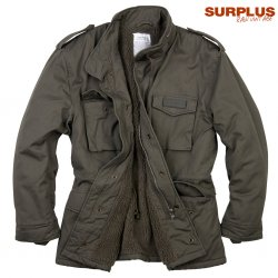 Surplus Raw Paratrooper Lumberjacket - Olive