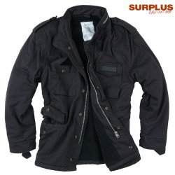 Surplus Raw Paratrooper Lumberjacka - Black