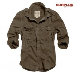 Surplus Raw Vintage 1/1 Shirt - Brown