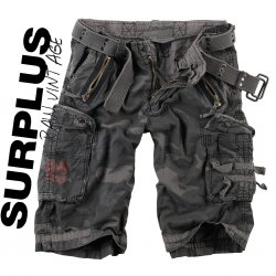Surplus Royal Shorts - Black Camo
