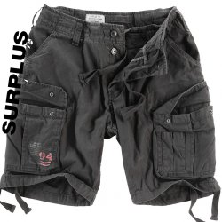 Surplus Airborne Shorts svart