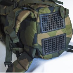 swedish backpack armygross