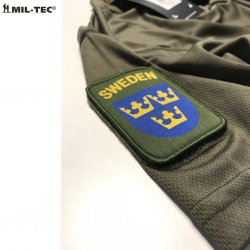 Mil Tec Tactical T-SHIRT QUICKDRY OD