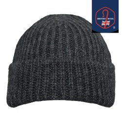 Woolly Pully Hats - Charcoal