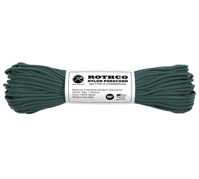 Paracord 550 Original Hunter Green 30meter