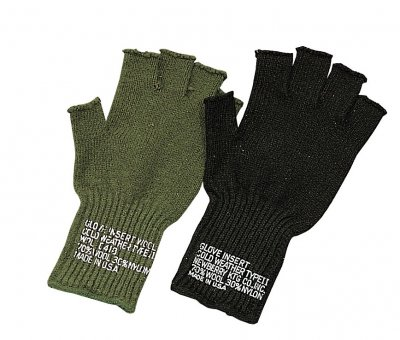 US FINGERLESS WOOL GLOVES