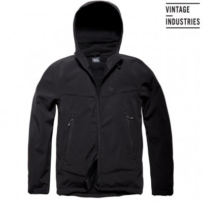 Alford Softshell Jacka - Vintage Industries - Svart