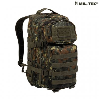 vandringsryggsäck med kamouflage look Army Gross