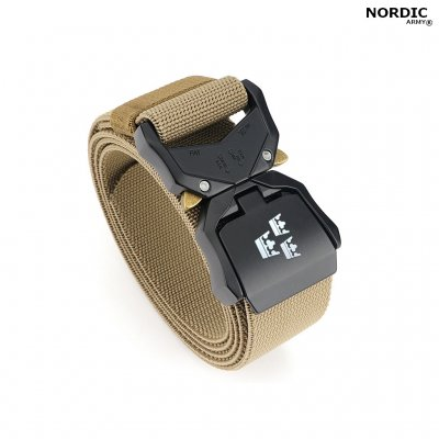 Nordic Army® Tactical Stretch Belt 3 Crown - Kaki