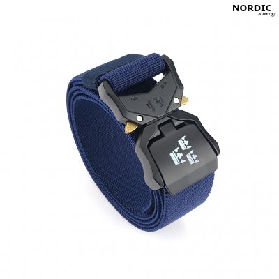 Nordic Army® Tactical Stretch Belt 3 Crown - Navy Blue