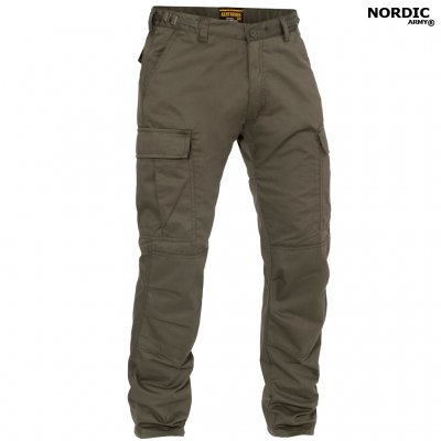 Nordic Army® BDU Bukser Ripstop - Olive