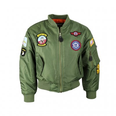MA1 Jacket Patch - Kids - OD